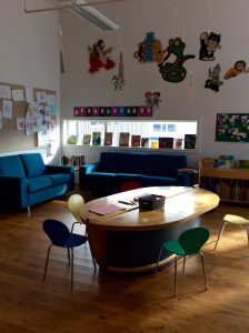 Interiør barneavdelingen